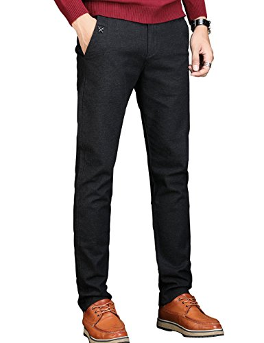 Flat Front Linen Trousers - 6