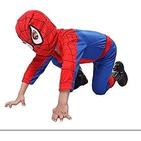 Kids Amazing Spiderman Spandex Zentai Suite Halloween Costume 41j8n07ZfGL