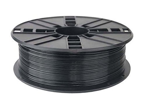 #1 Best 3D Printer Filament Black PLA 1.75mm 1kg Spool -Perfect Print Every Time- Top Dimensional Accuracy +/-0.05mm - Compatible With All Major 3D Printers - 100% Happiness Guaranteed + BONUS Files