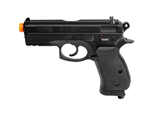 ASG CZ 75 D Compact Gas Powered Non Blowback Airsoft Pistol