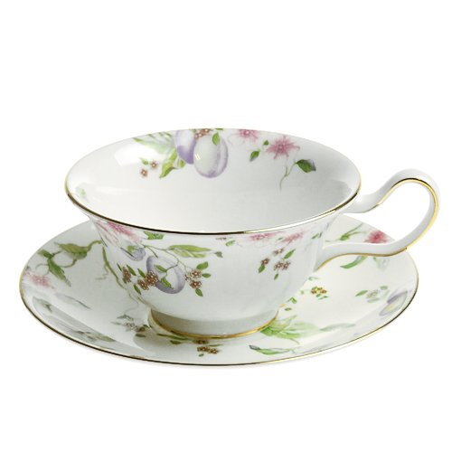 - Wedgwood ( Wedgwood ) Sweet Plum tea cup and saucer Peony [ parallel import goods ]