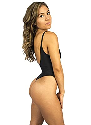 St. Tropez Sheer One Piece Thong