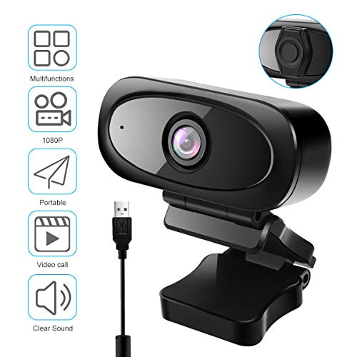 🥇 Viflykoo Webcam con micrófono