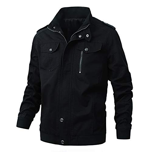 ZooYung Men's Casual Winter Cotton Military...