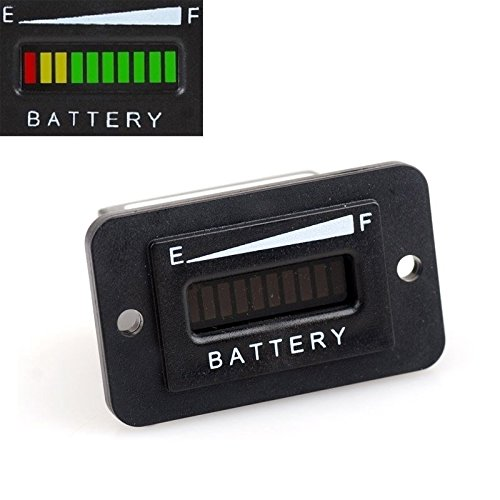 Rv Battery Voltage Gauge : Volt led display golf cart trucks rv boats lead