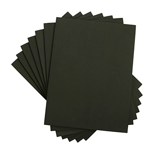 Houseables Foam Sheets, Art and Craft Supplies, Black, 6mm Thick, 9 X 12 inch, 10 Pack, EVA, Paper Scrapbooking, Cosplay, Crafting Foams Paper, Foamie Crafts, for Kids, Boy Souts, Halloween, Cushion by Houseables