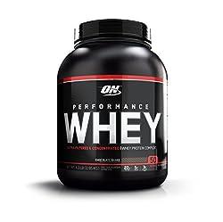 Optimum Nutrition Performance Whey Protein Powder, Whey Protein Concentrate, Whey Protein Isolate, Hydrolyzed Whey Protein Isolate, Flavor: Chocolate Shake, 50 Servings