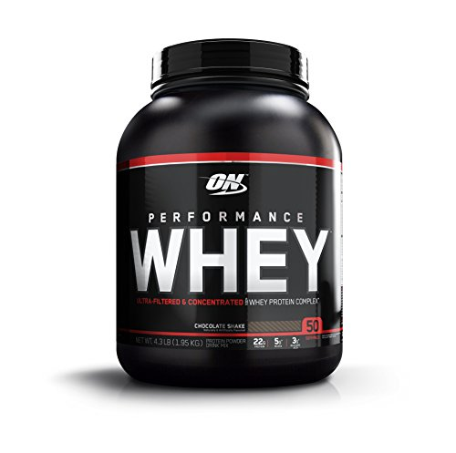 OPTIMUM NUTRITION Performance Whey Protein Powder, Whey Protein Concentrate, Whey Protein Isolate, Hydrolyzed Whey Protein Isolate, Flavor: Chocolate Shake, 50 Servings Review