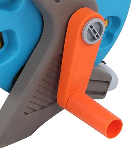 Water Hose Sprayer, Scattering + Water Column Eco-Friendly Crank Handle Hose Rack Set, Easy to Use Car Washing for Household Cleaning