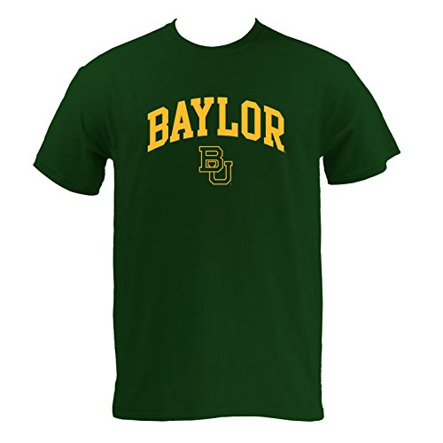 - Baylor Bears Arch Logo T-Shirt - Large - Forest Green