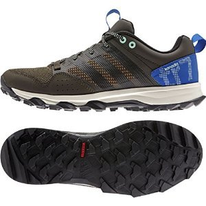 adidas Outdoor Kanadia 7 Trail Running Shoe - Men's Umber/Black/Blue 12