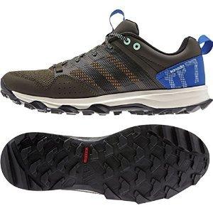 Adidas Outdoor Kanadia 7 Trail Running Sneaker Shoe - Umber/Black/Blue - Mens - 11 (Adidas Kanadia Tr5)