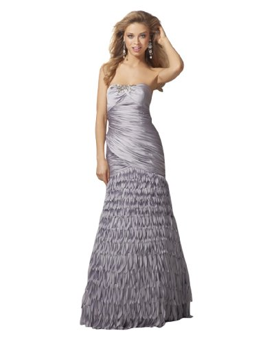 Strapless Mermaid Prom Clarisse Silver Dress 1510 AfRYqSx