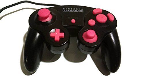 Gamecube Controller Full Buttons Set Mod Kit Pink: Nintendo Gamecube