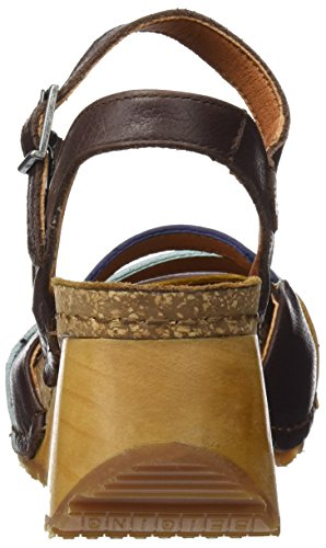 Art 1323 Memphis Borne, Sandali Punta Chiusa Donna Marrone (Brown)