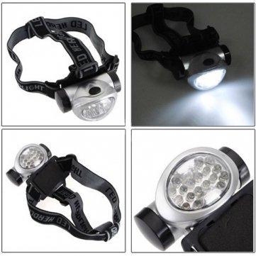 Qualité lampe LEDs randonnée Haute torche Light Head 18 de Lampe poche fBaw6dq