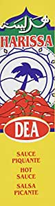 Dea Harissa Hot Sauce From France 2 Pack Combo 2X4.2 oz (Pack of 2 )