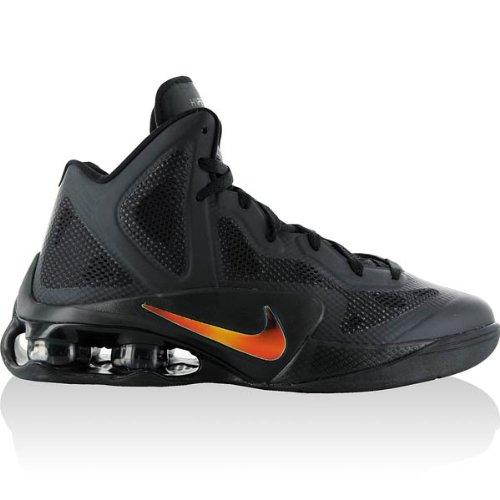 Nike Shox Air - NIKE Shox Air Hyperballer Mens Basketball Shoes Black/Metallic Luster-Dark Grey 454154-004-13