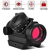 Cycvis Red Dot Sight -【1x25mm 4 MOA 11...