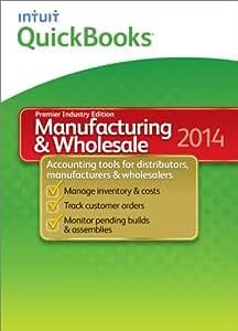 QuickBooks Premier Manufacturing & Wholesale 2014 [Old Version]