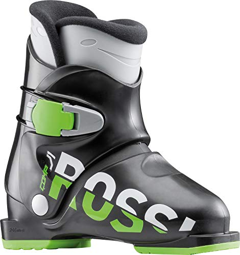 Rossignol Comp J1 Ski Boots Black Kid