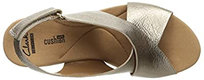 cd64323eb11b Clarks Women s Annadel Eirwyn Wedge Sandal
