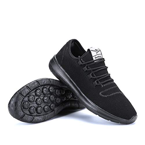 Soft Casual Fashion All Sneakers Athletic Black Lightweight keezmz Men's Sole Mesh Breathable Running Shoes qwFRZW0C