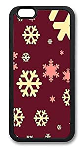 iPhone 6 Plus Cases, Christmas Pattern Durable Soft Slim TPU Case Cover for iPhone 6 Plus 5.5 inch Screen (Does NOT fit iPhone 5 5S 5C 4 4s or iPhone 6 4.7 inch screen) - TPU Black