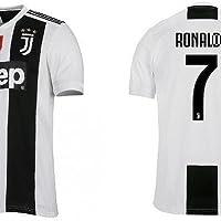 JUVE Completo Maglia Pantaloncino Ronaldo Juventus CR7 Replica Ufficiale Pari A Originale Bambino Adulto