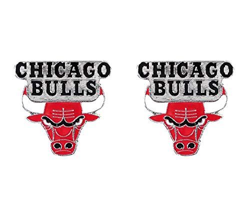 Earring Bulls Chicago - NBA Chicago Bulls Team Post Earrings