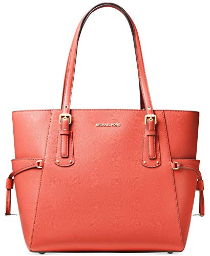 Michael Kors Voyager EW Tote, Leather , Sea ()
