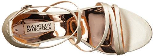 Badgley Mischka Women's Bonanza Wedge Sandal Ivory fhj8nf