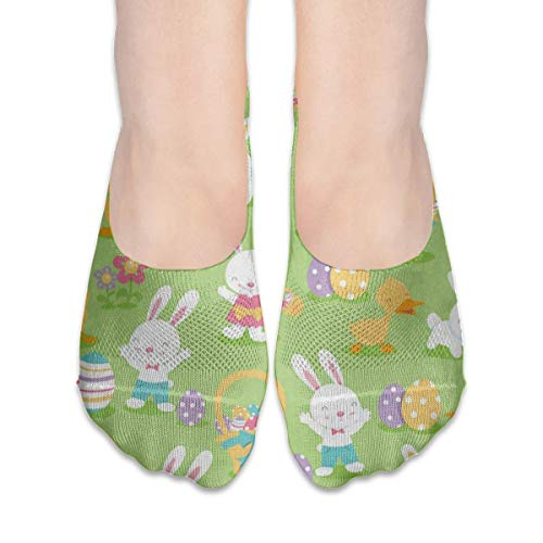 No Show Socks Lovely Bunny Rabbit Duck Personalized Womens Low Cut Sock Boat Invisible Socks For Girl