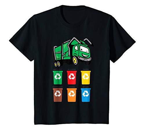 Kids Funny Kids Garbage Truck T-Shirt