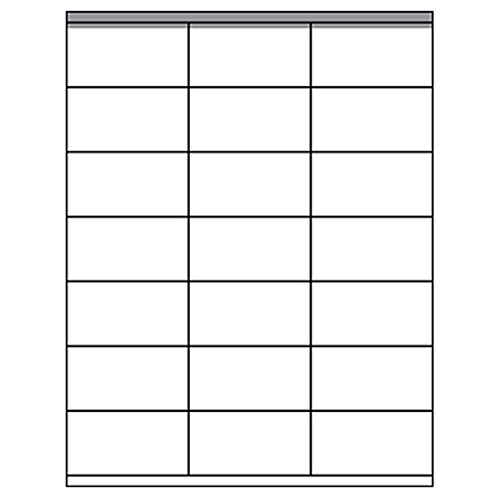 250 Sheets (5250 Labels) White Address Labels, 1.5