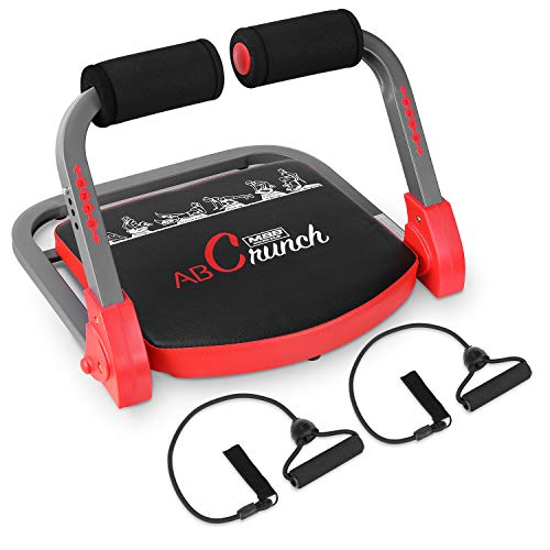 femor Core & Abs Exercise Trainer, Total Body Muscle Building Crunch Training Machine, Home Gym Fitness Equipment for…