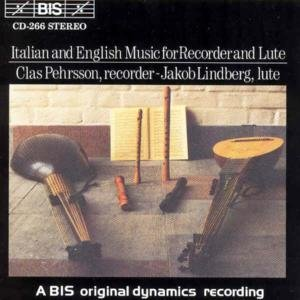 - Italian & English Recorder & Lute Music / Various