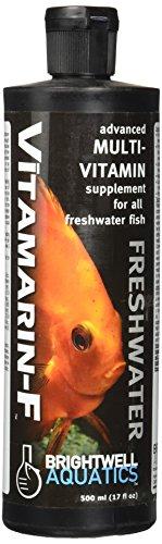 - Brightwell Aquatics 17 fl. oz. Vitamarin-F Advanced Multi-Vitamin Supplement for All Freshwater Fish, 500 mL