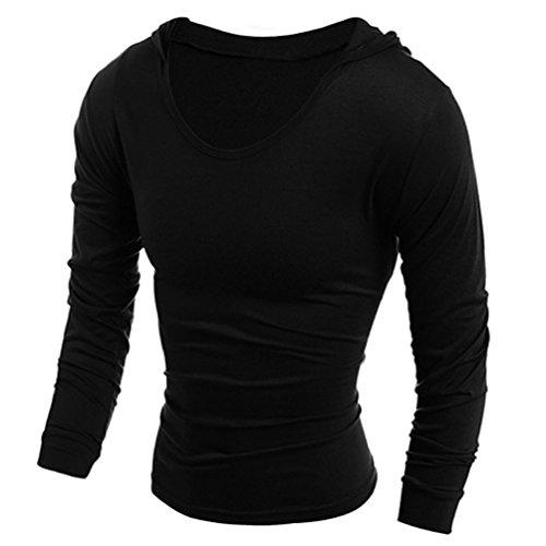 Homme À Longues Medium Noir Manches Alcyoneus Shirt gZAnqWH