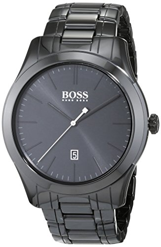 Boss Men's Analogue Quartz Watch with Ceramic Bracelet – 1513223