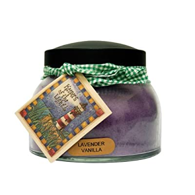 A Cheerful Giver Lavender Vanilla Mama Jar Candle, 22-Ounce - Holds 22 ounces Burn time is 125 hours All of the candles are made with quality wicks and more fragrance to go above and beyond your expectations - living-room-decor, living-room, candles - 41j8vN39ImL. SS400  -