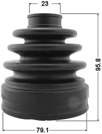 J/&R VIVARO 2.0 HUB NUT /& CV JOINT BOOT KIT DRIVESHAFT BOOTKIT-GAITER 0206