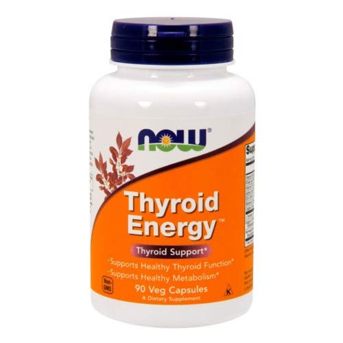 Thyroid Energy, 90 Vcaps by Now Foods (Pack of 3)
