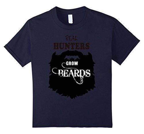 Kids Real Hunter tshirts, Hunting gift men costume tees shirts 12 Navy - Hunter And A Deer Costume