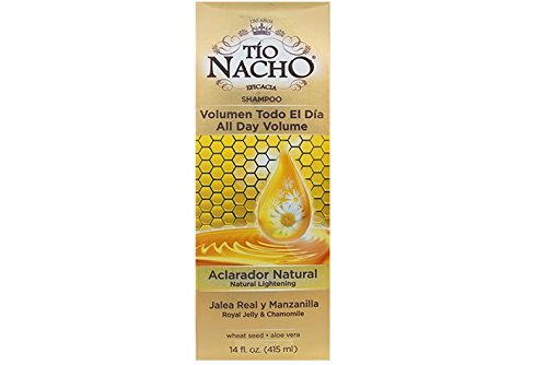 TIO NACHO Natural Lightening & Volumizing Shampoo 14 oz