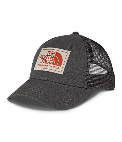 The North Face Mudder Trucker Hat Graphite Grey/Rainy Day Ivory/Tibetan Orange Size One Size