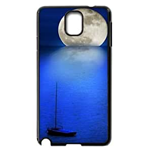 Moon ZLB599259 Custom Phone Case for Samsung Galaxy Note 3 N9000, Samsung Galaxy Note 3 N9000 Case