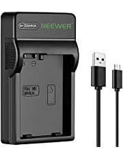 Neewer Slim Fast Micro USB Battery Charger for Nikon EN-EL14 EN-EL14a, Nikon D3200, D3100, D5500, D5300, D5200, D5100, D3300,DF DSLR, Coolpix P7800, P7700, P7000 Cameras, Multi Charging Option