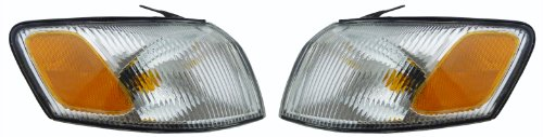 Toyota Camry 97-99 Light Pair Set Left & Right Turn Corner Signal Park Lamps