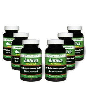 Cheap Hampshire Labs   Antiiva Men's Formula   Provides Optimal Prostate Support   Herbal Dietary Supplement   Reduce Frequent Urination   High Strength Beta Sitosterol Complex   360 Tablets/180 Day Supply